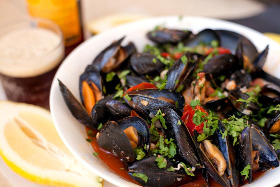 Mussels al Diablo