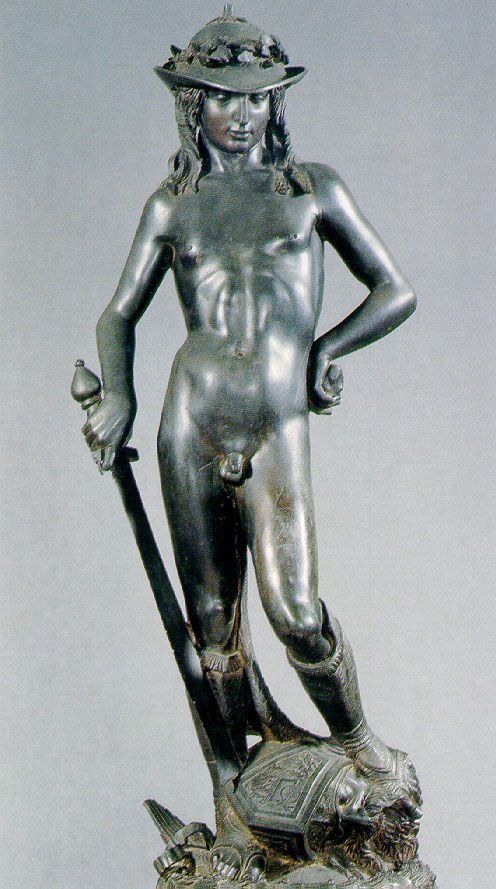 Bronze David by Donatello