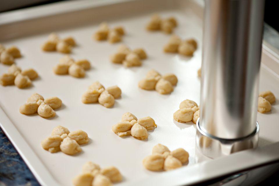 Cookies and Spritz Cookie Press