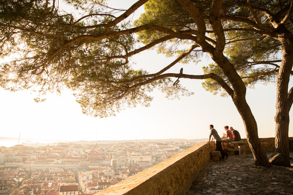 View from Sao Jorge castle, Lisbon
