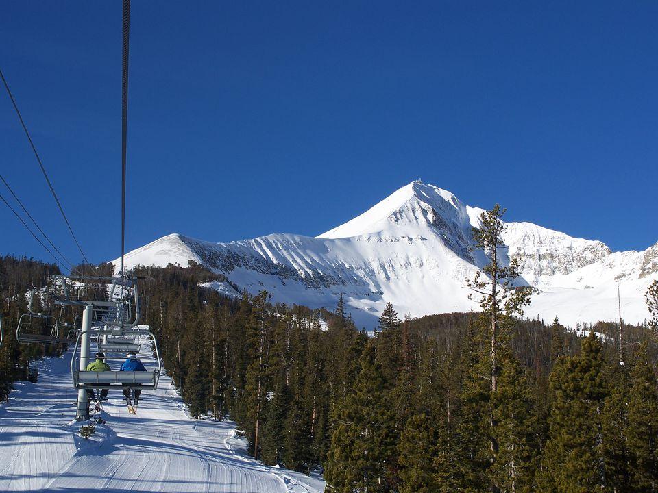 Big sky ski hill-1271
