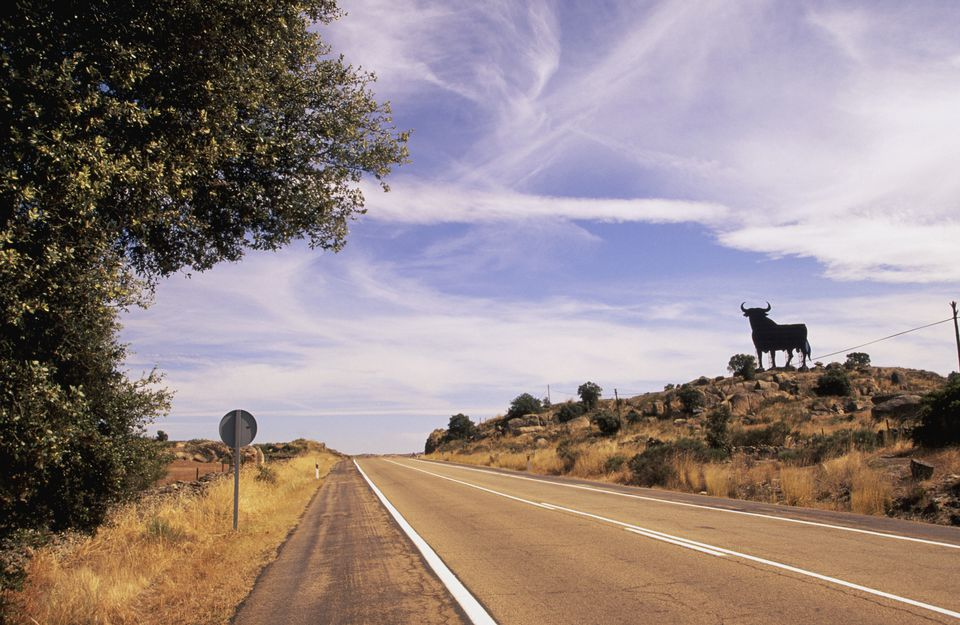 The open road can be beautiful when driving in Spain