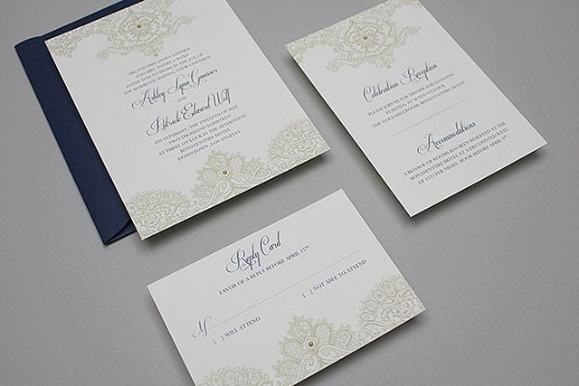 22 free printable wedding invitations lace and pearls printable wedding invitation junglespirit Images