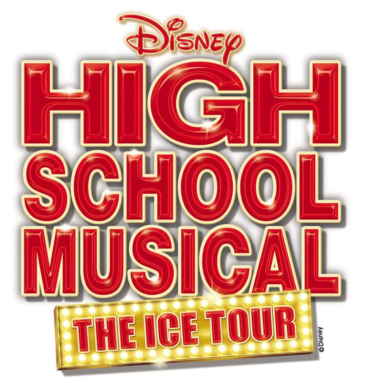 Disney's High School Musical: The Ice Tour Logo