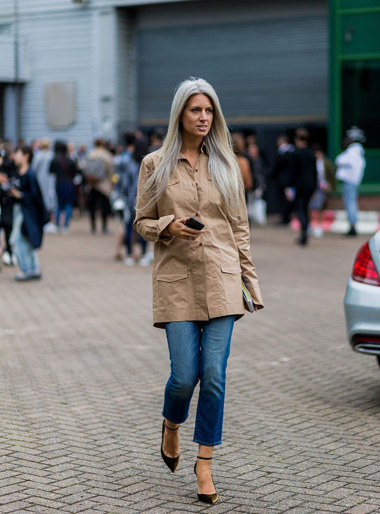 10 Ways to Wear Jeans Like Vogues Sarah Harris