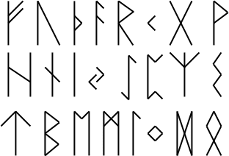 Elder Futhark - Viking Runes