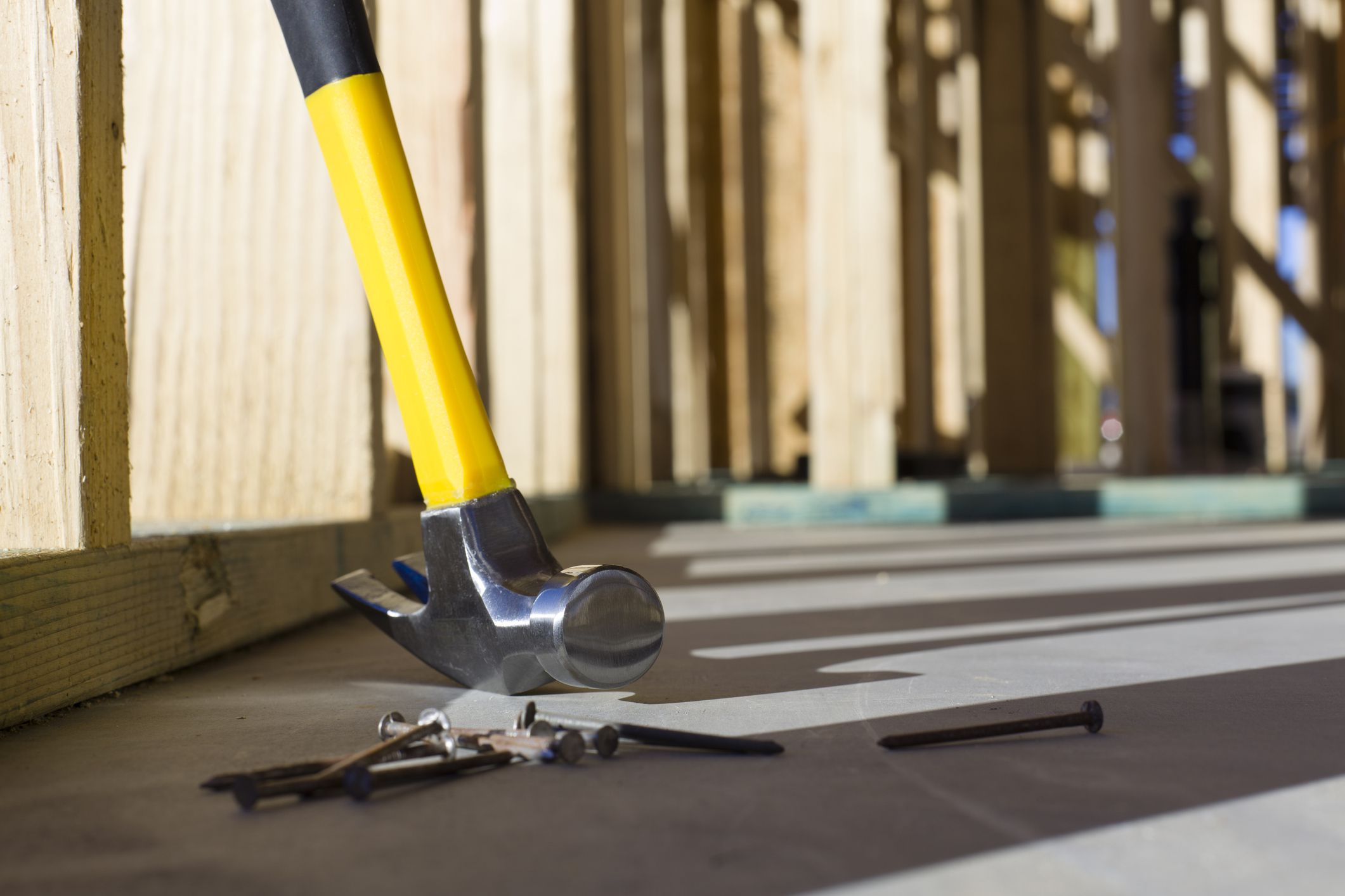 How To Nail Into Concrete By Hand With Concrete Nails