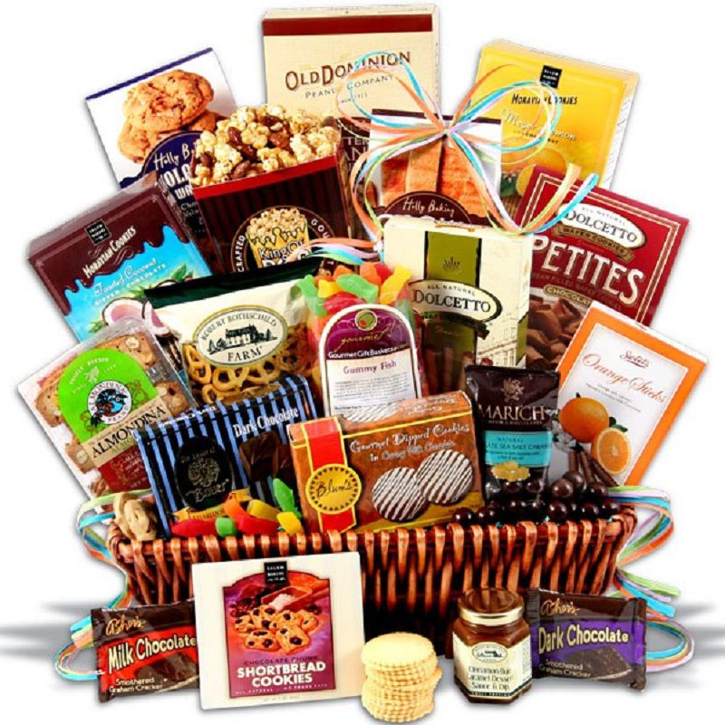 Small Christmas Gift Basket Ideas