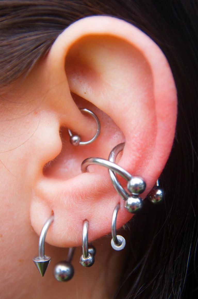 How To Put On Captive Bead Ring