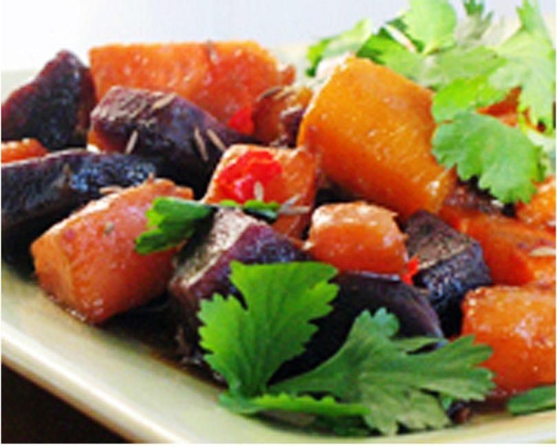 Sweet Potato and yam