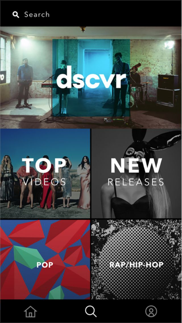 Vevo app for iPhone