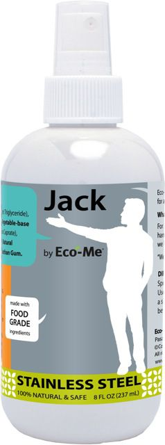 Jack by Eco-Me Stainless Steel Cleaner