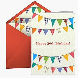The best free birthday e cards happy 30th birthday by punchbowl bookmarktalkfo Images