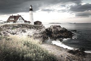 Portland Head Light - Cape Elizabeth, ME., USA
