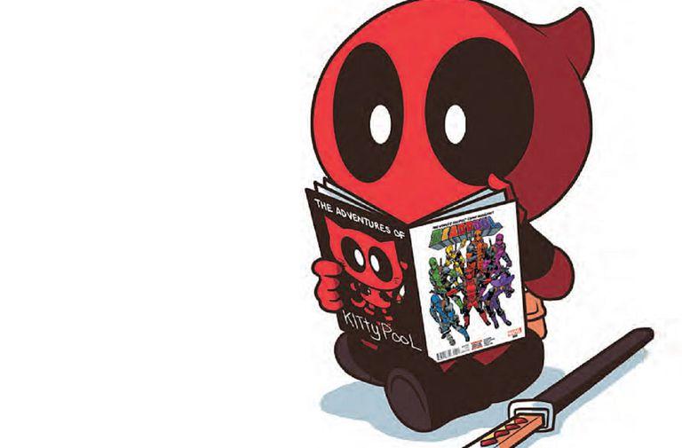 Deadpool by Irene Y. Lee