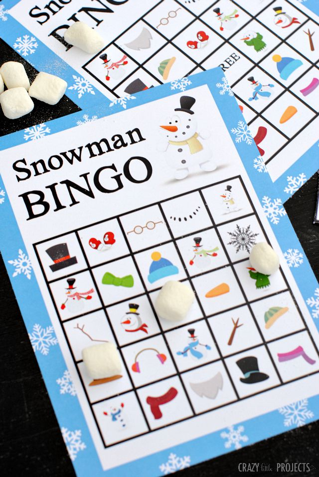 11 Free Printable Christmas Bingo Games For The Family