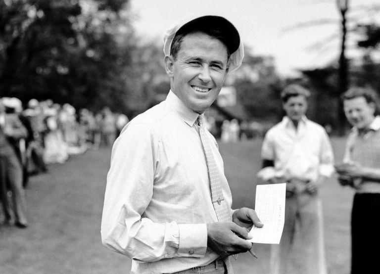 Golfer Paul Runyan