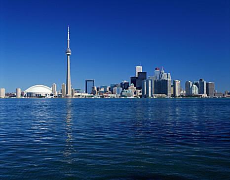 Toronto, Canada skyline and waterfront