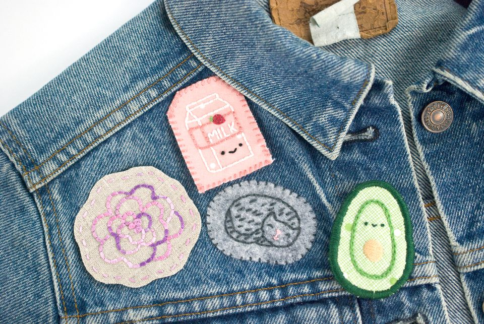 4 Ways to Make Hand Embroidered Patches