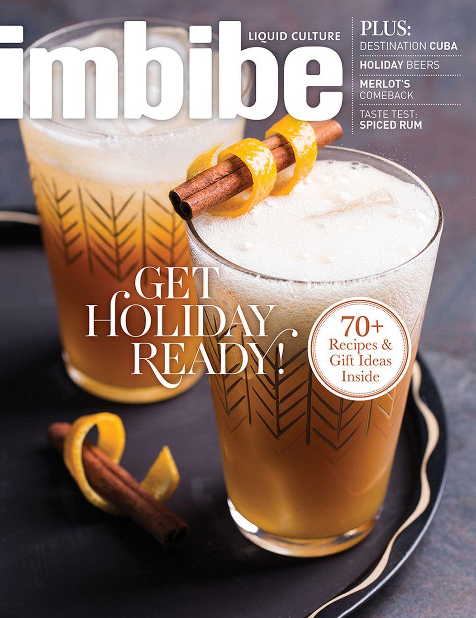 """Imbibe Magazine Explores """"Liquid Culture"""""""