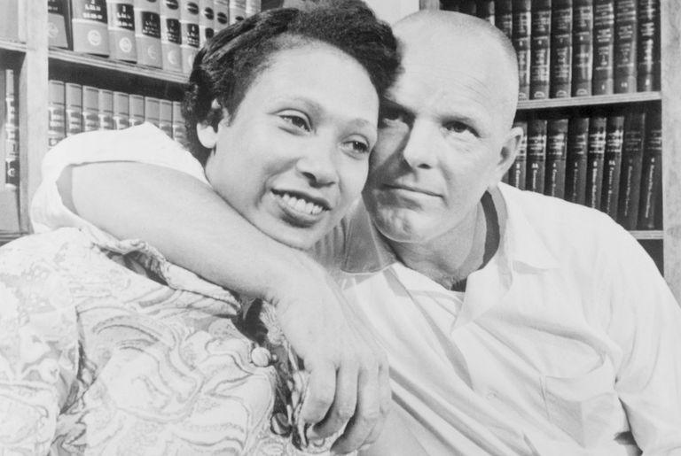 Richard and Mildred Loving in Washington, DC