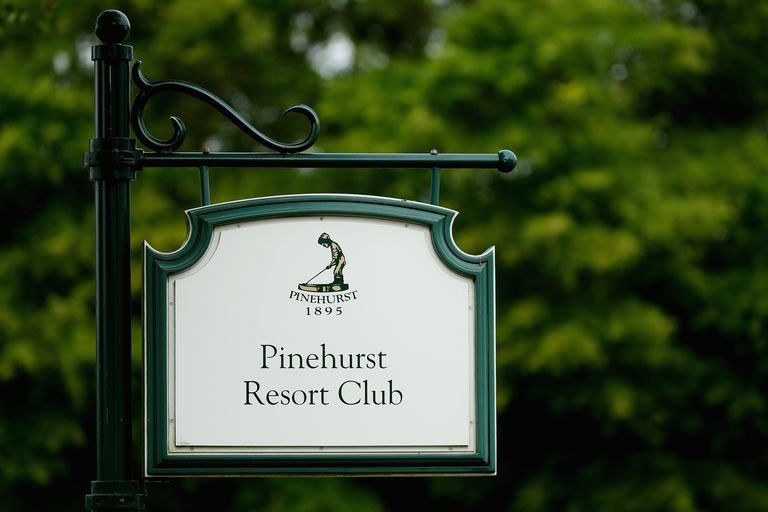 Pinehurst Resort Club signage