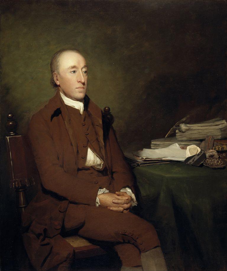 James Hutton, 1726 - 1797 by Sir Henry Raeburn