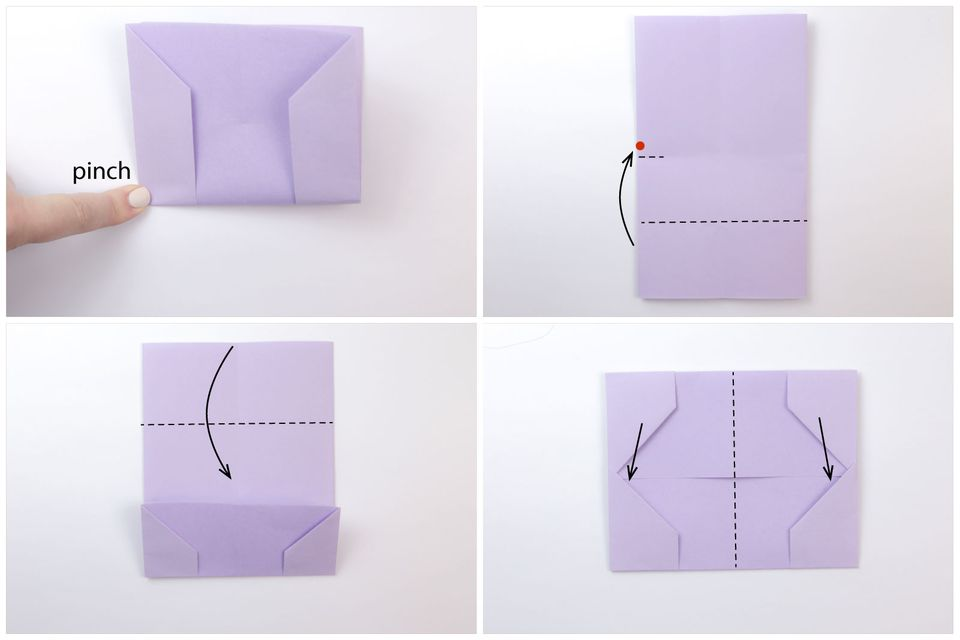 Easy Origami Business Card Case or Wallet Tutorial