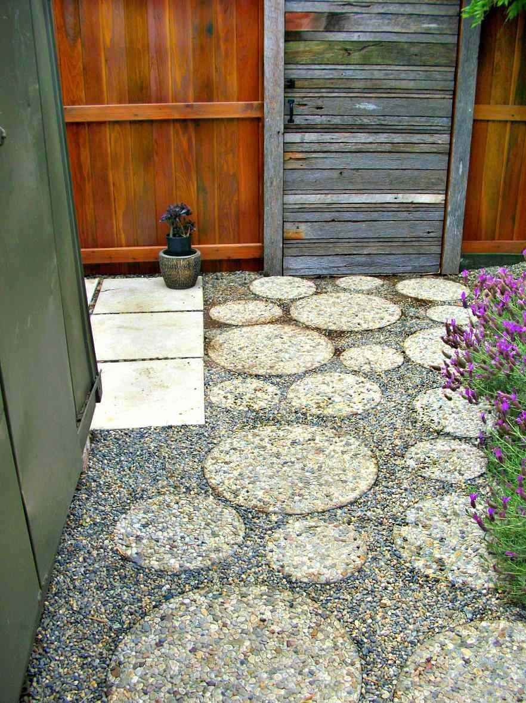 Garden Seating Area Ideas Gravel Patio