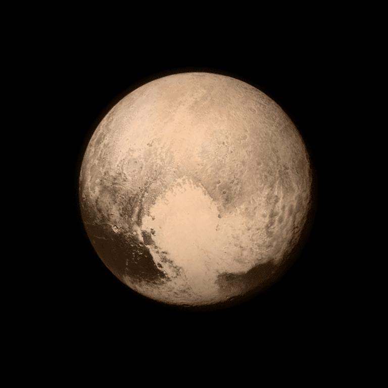 El corazón de Plutón
