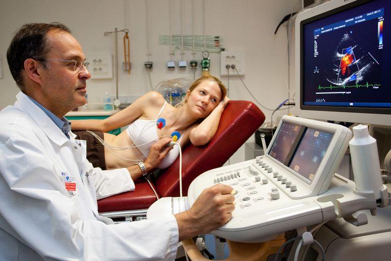 Heart scan doppler