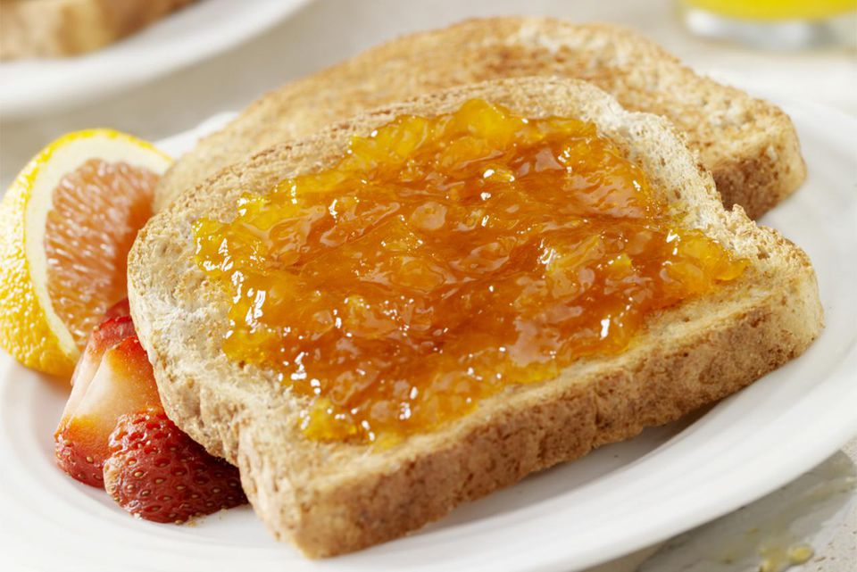 Apricot on Toast