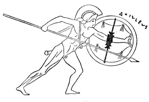 achilles coloring pages | Iliad Book XXIII - Funeral Games for Patroclus