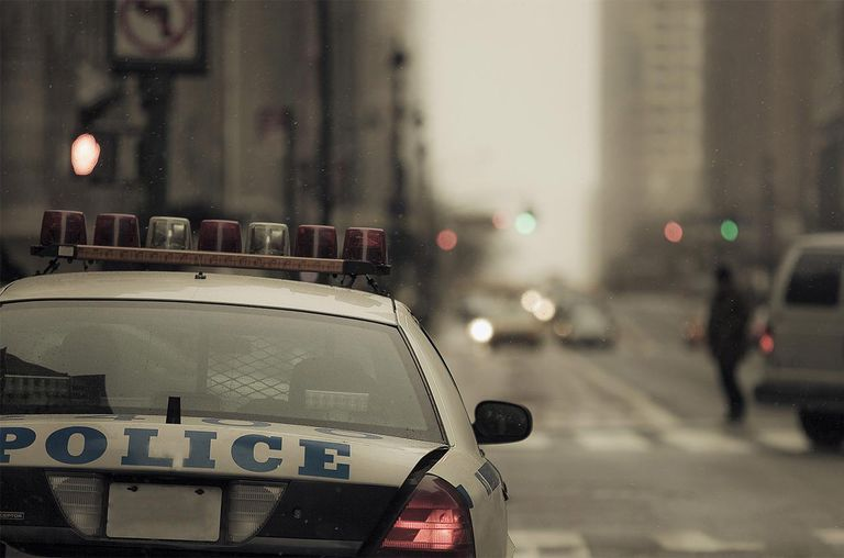 NYPD pulled over in New York City