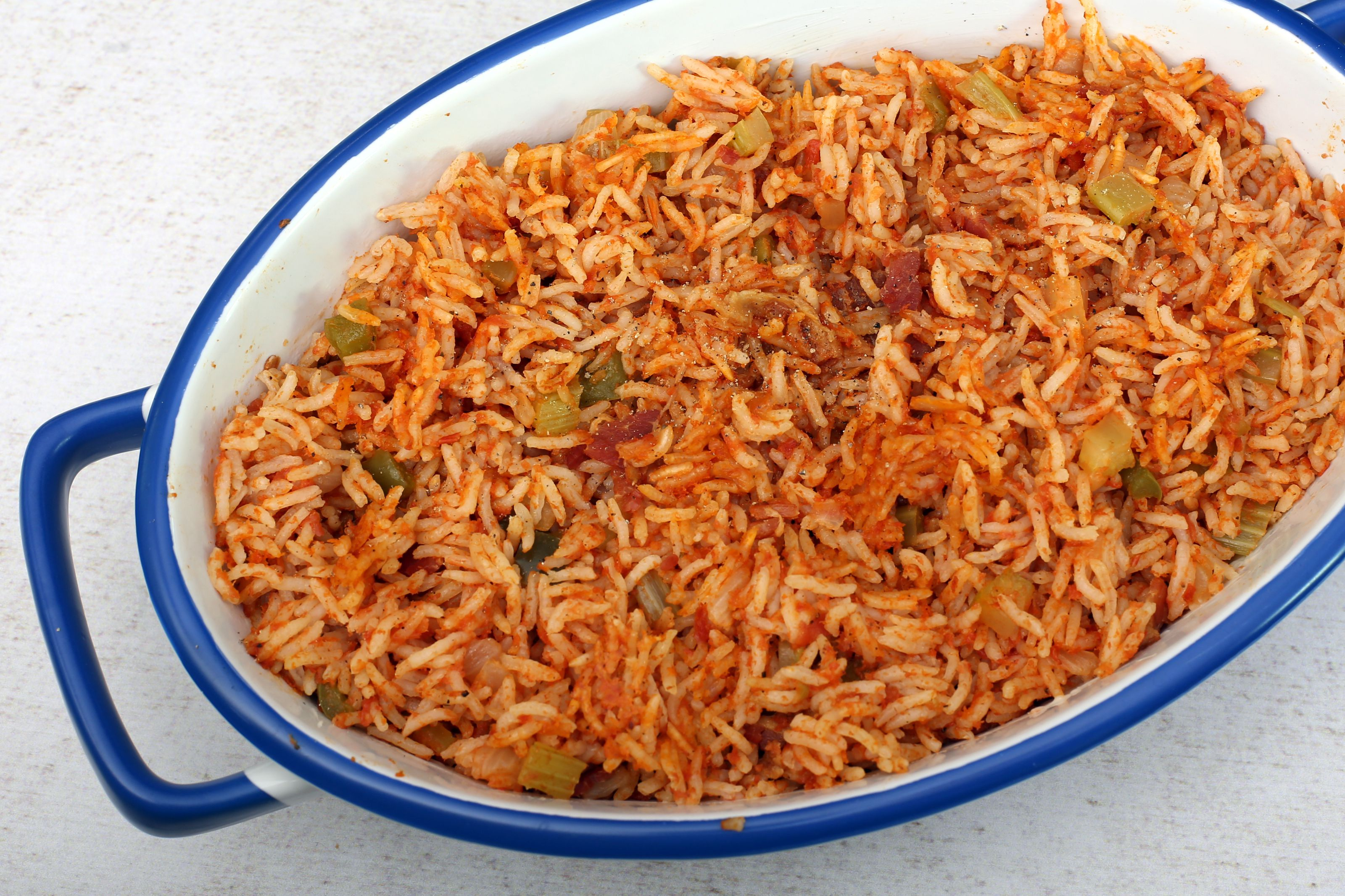 Lowcountry Red Rice With Ham Recipe