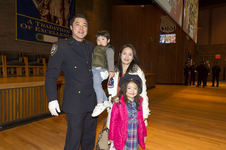 A police officer and his family