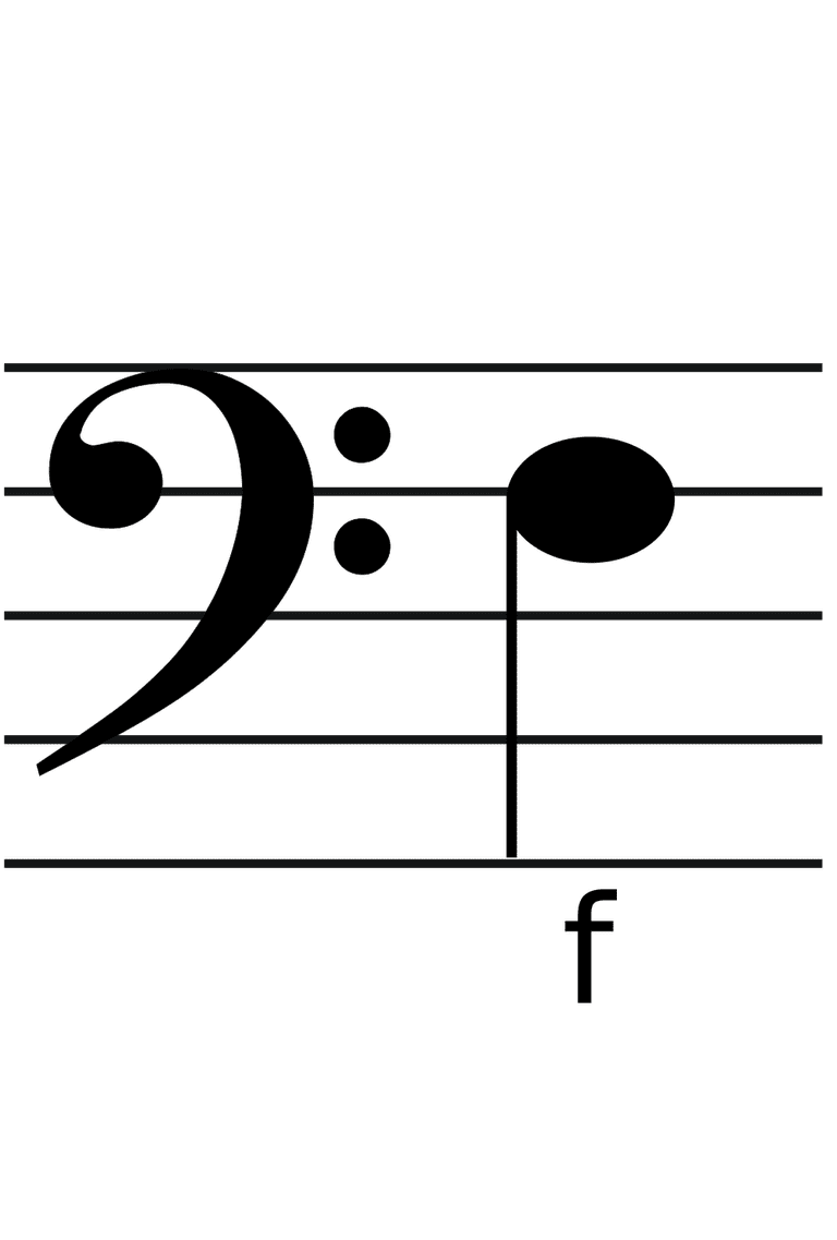 Commonly used types of clefs bass clef buycottarizona Images