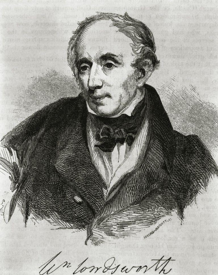Portrait of William Wordsworth, English Poet