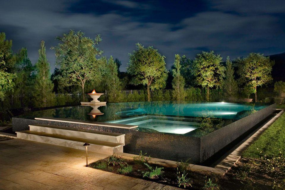 multilevel pool