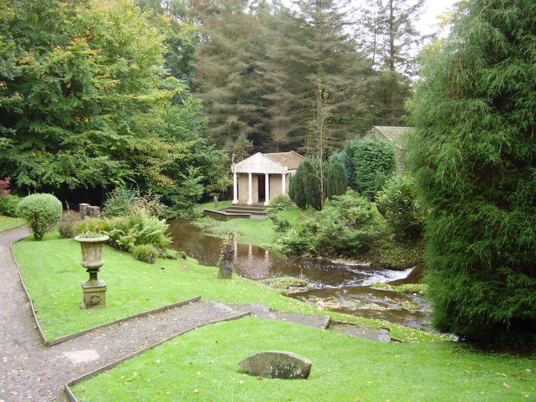 Open Air Museum at Vindolanda (Reconstructed Shrine)