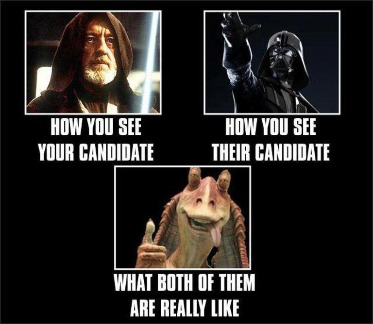Star Wars Candidate