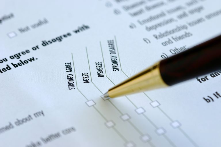A survey using a Likert scale. Find out the differences between indexes and scales in research.