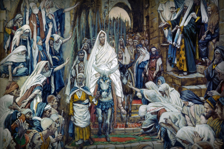 Palm Sunday Story The Triumphal Entry Of Jesus Christ