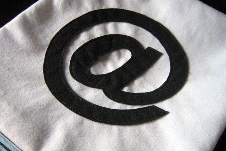 arroba at the @ or at symbol