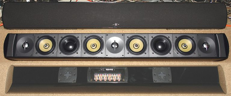 Paradigm Millenia 20 Trio LCR Flat Screen Speaker System - Triple View