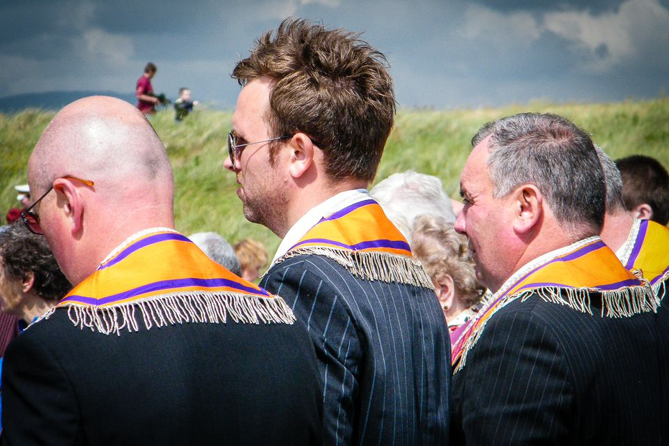 Sashes to sashes at Rossnowlagh in County Donegal