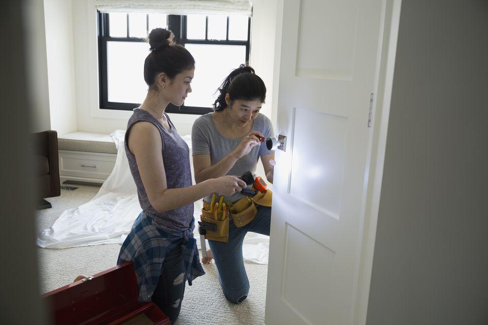 Door knob repair
