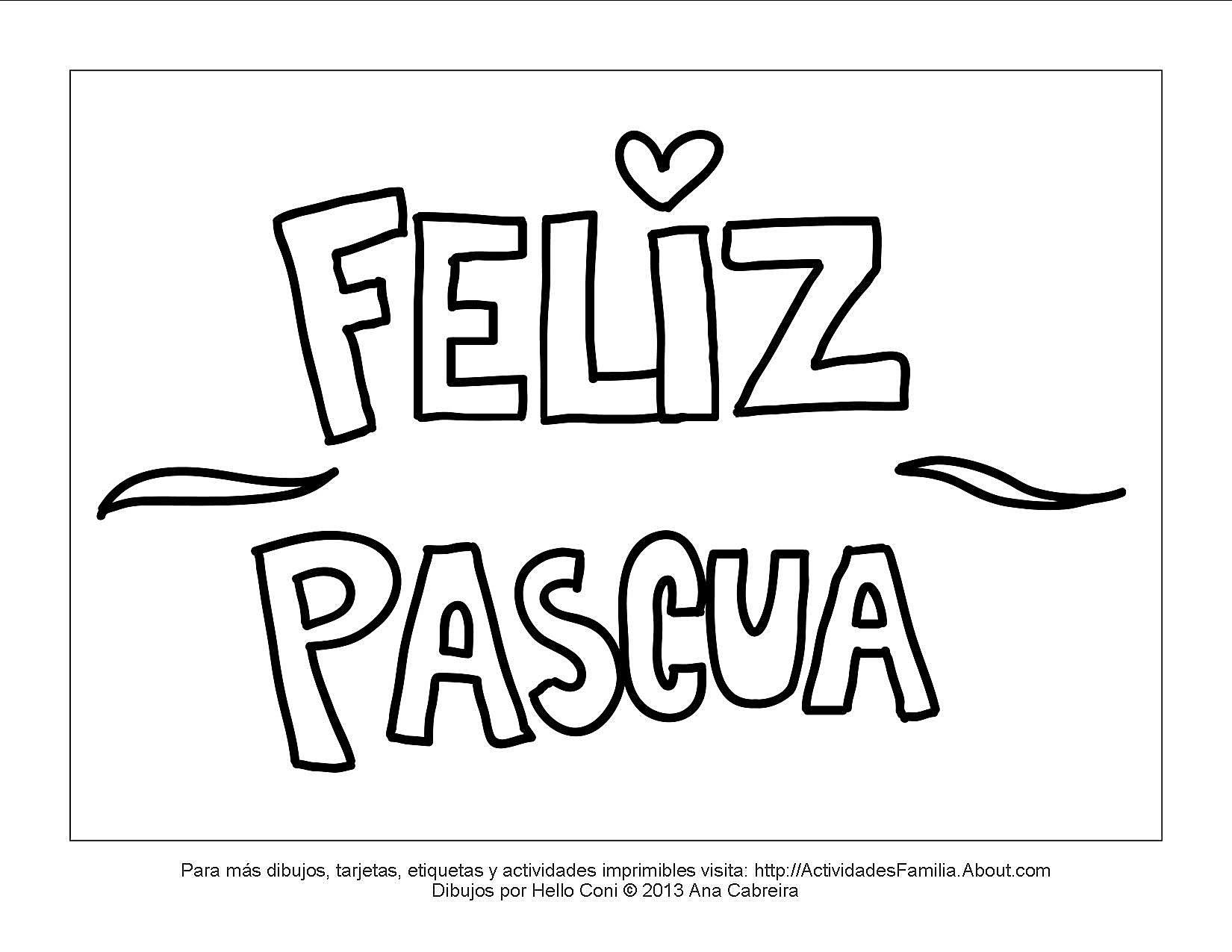 Moderno Niños Pascua Para Colorear Colección - Ideas Para Colorear ...