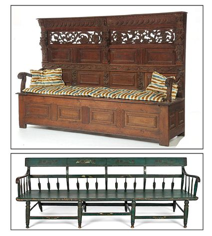 Antique Fainting Couches And Daybeds