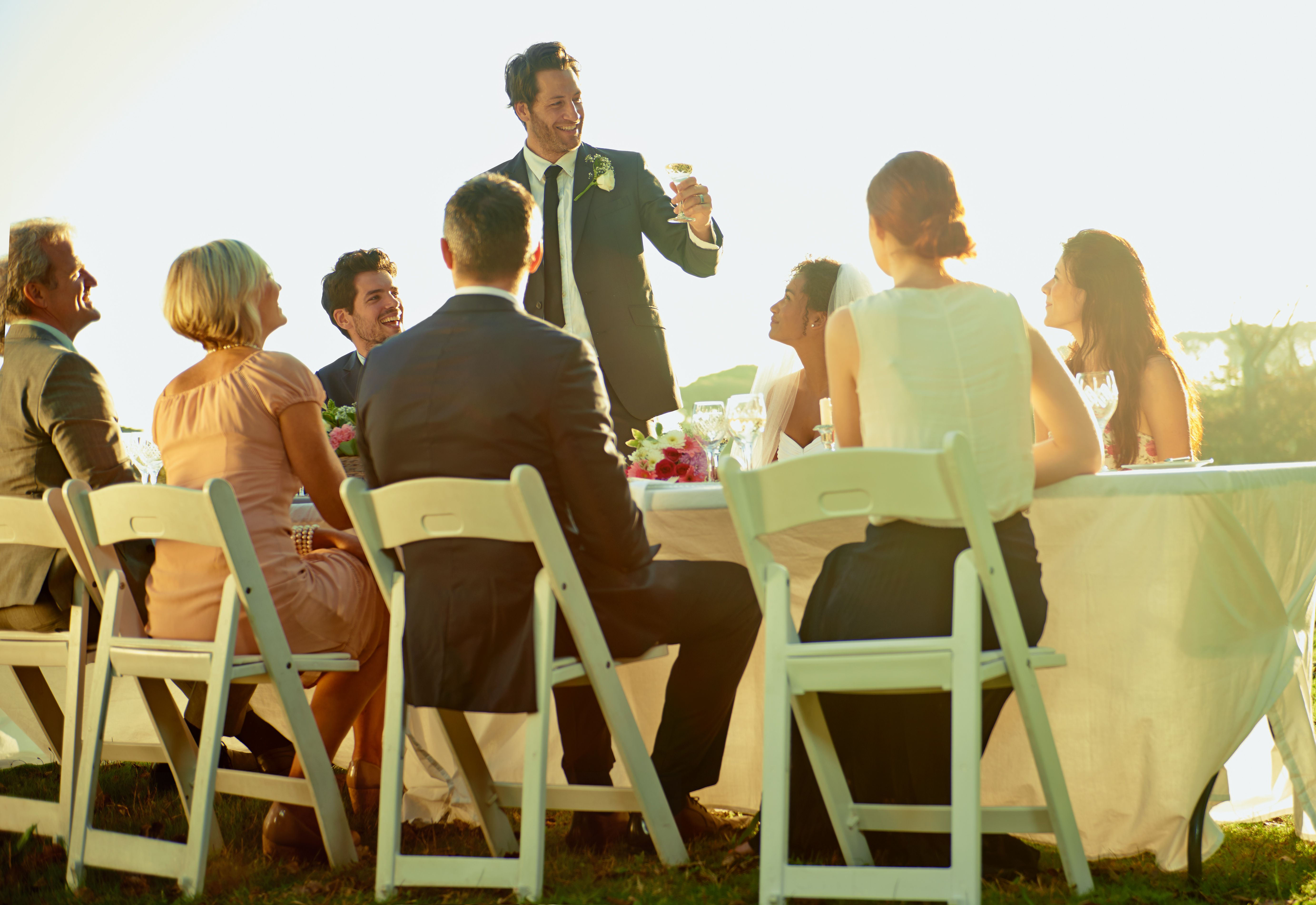Timeless Wedding Toasts For The Bride And Groom